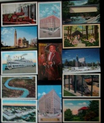 Lot of 700s+ Antique Mix of 1900s-1970s travel postcards