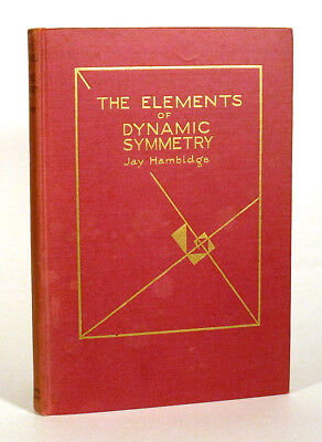 1926 Hambidge ELEMENTS OF DYNAMIC SYMMETRY Signed ALEXANDER JAMES Dublin NH Art