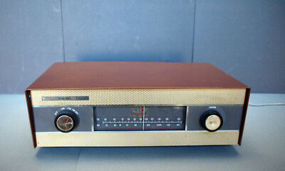 Vintage 50's General Electric FA-17  Hi-Fi Tube Tuner Tested & Working Condition