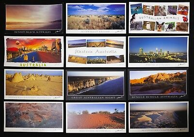 Western  Australia, Postcard 1 set of Panorama Postcards