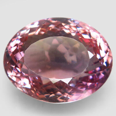 24.95ct.Spectacular Gem! 100%Natural Bi Color Ametrine Unheated Bolivia AAA Nr!.
