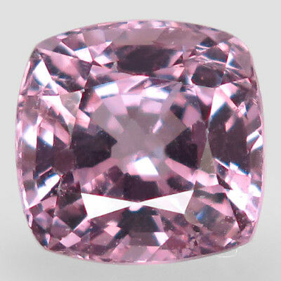 2.56ct.Fabulous Gem! 100%Natural Rich Pink Purple Spinel Unheated 7.7mm.AA Nr!.