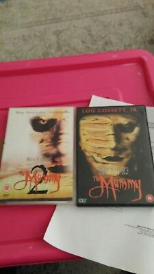 Bram Stoker's Legend Of The Mummy  1 & 2 horror thriller cult twisted graphic