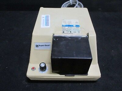 Used Superdent R-1A Dental Lab Amalgamator Mixer for Amalgam Capsules