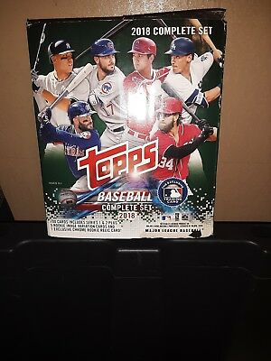 2018 Complete Set Topps 2018 700  Cards 5 Rookie Image VRiation Cards 1...