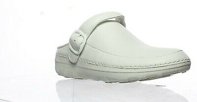d487b0d13552 FITFLOP WOMENS GOGH Pro Superlight Urban White Mules Size 11 (138633 ...