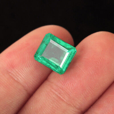 5Ct 100% Natural Muzo Colombian Emerald Collection QMDaT201