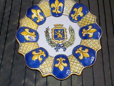 Belle Assiette en Faience de NEVERS (Georges) TTB