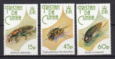 TRISTAN DA CUNHA 1993 INSECTS (ref 8) MINT NEVER HINGED