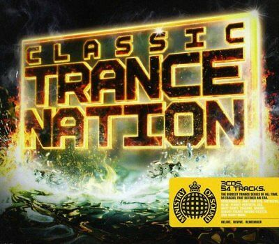 Ministry Of Sound - Classic Trance Nation (3 X CD)