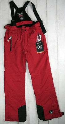 Herren Skihose Killtec Snowboard Enosh rot 8000 mm Gr. M-XL