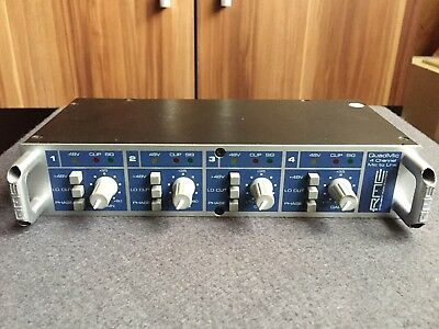 RME QuadMic - Mic Preamp - Top Zustand