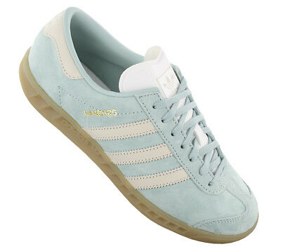 new product 28672 ed94b NEW adidas Originals Hamburg W BY9674 Womens Shoes Trainers Sneakers SALE