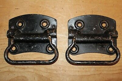 Pair of Vintage Handles for Old Pine/Oak Blanket Box/Chest/Trunk/Coffer~