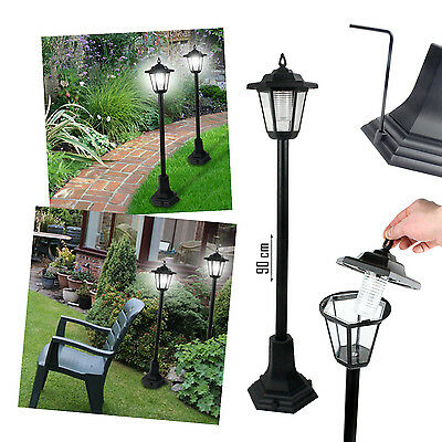 Garden Solar Led Stake Post Lights Grass Pathway Driveway Patio Outdoor Border