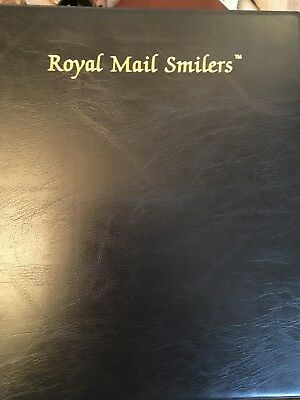 Royal Mail Smilers Album Black With Pages Used But Clean Buy It Now