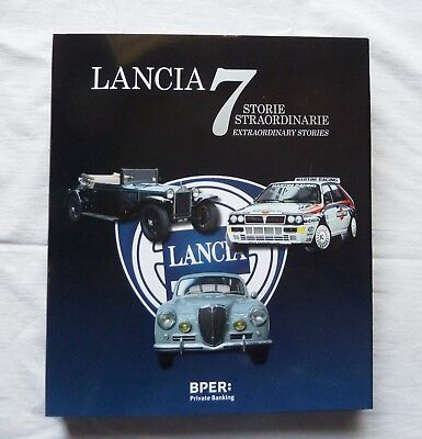 Libro Nuovo Auto Lancia 2018 Automobile Italiana Italian Car Book English