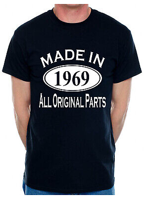 50th Birthday Present Made in 1969 Mens Age 50 Gift Funny Mens T-Shirt
