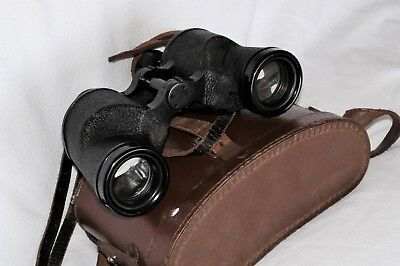 Canadian Rel 6 X 30 Binoculars With Graticules (Individual Focusing) Dated 1942