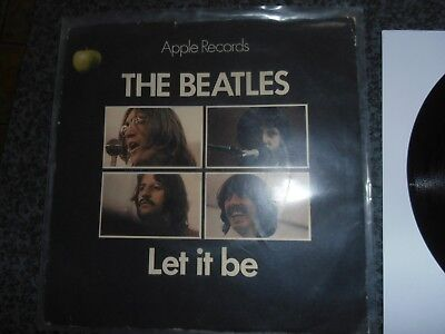 The Beatles Let it Be in picture sleeve in Ex condition
