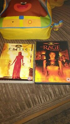 Carrie 1 & 2 Stephen king horror thriller dark twisted graphic sick sinister cul
