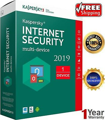Kaspersky Internet security 2018, 1 PC, 1 Anno, Antivirus