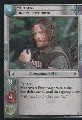 2002 Decipher==Lord Of The Rings==Tcg Promo Foil==Aragon: Ranger Of The North