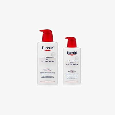 Eucerin Family Pack Ph5, Pack De Gel De Baño 1000 Ml Y Gel De Baño 400Ml