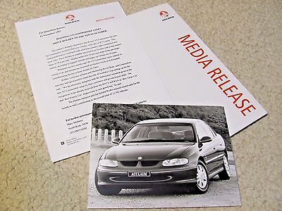 HOLDEN COMMODORE ACCLAIM PRESS KIT FROM 1997...rare