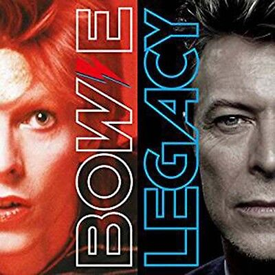 DAVID BOWIE Legacy The Very Best Of David Bowie CD NEW