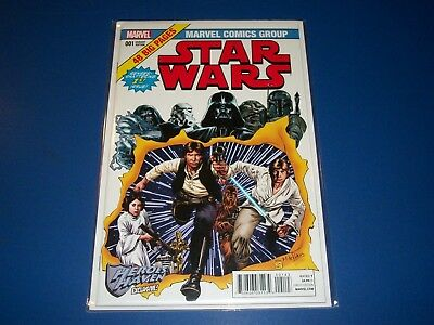 Star Wars #1 Heroes Haven Giant Size X-men Homage Variant NM Gem wow