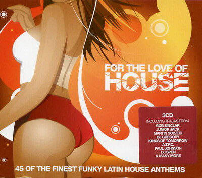 For The Love Of House Vol.2 (3 X CD ' Various Artists)