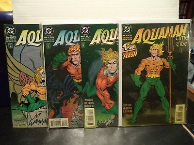 Aquaman Time & Tide (DC Comics) From the 1993 4 issue Mini Series by Peter David