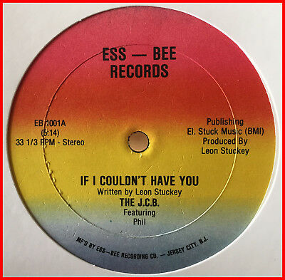 "MODERN SOUL FUNK 12"" The J.C.B.-if i couldn't have you ESS-BEE - Private VG+ mp3"
