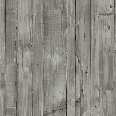 Wood Effect Wallpaper Distressed Grains Planks Boards Paste The Wall Vinyl P+S