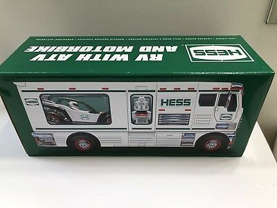 2018 Hess Toy Truck Collectors RV