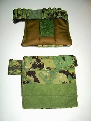 2 NEW AOR2 US NAVY SEAL Eagle Industries Shldr Deltoid Plate Pocket Pouch DEVGRU