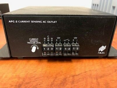 Niles Audio APC-2 Current Sensing AC Outlet Switcher