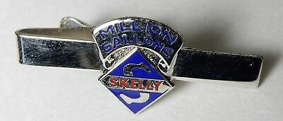 Vintage Skelly Oil Million Gallons Advertising Tie Clip Clasp