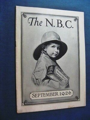 National Biscuit Company NBC Booklet 1926