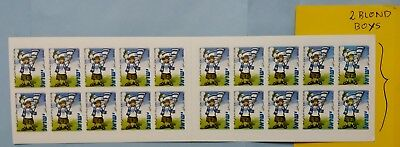 """Israel  """"the Israeli Booklet"""" 2 Blond Boys Instead Red, See Scan , Mnh,#01"""