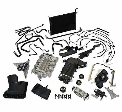 Ford Course 11-14 Mustang Gt 525 hp Superchargeur Blk Wrinkle M-6066-MGT525D