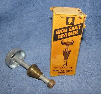 "Bibb Seat Reamer with 1/2"" Cutter - Made in USA"