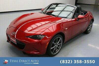 2016 Mazda MX-5 Miata Grand Touring Texas Direct Auto 2016 Grand Touring Used 2L I4 16V Manual RWD Convertible Bose