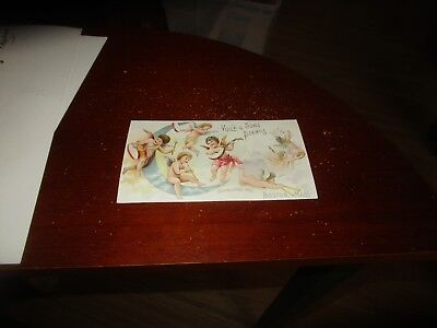 Vintage C. Early 1900's Vose & Sons Pianos Boston Ma. Trade Card