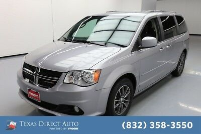 2017 Dodge Grand Caravan SXT Texas Direct Auto 2017 SXT Used 3.6L V6 24V Automatic FWD Minivan/Van