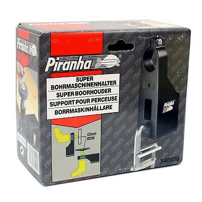 Piranha X40070 Power Drill Stand for Stationary Working