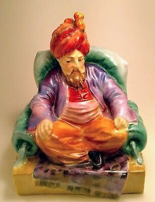 Royal Doulton VERY RARE Color Colourway Abdullah (with crack)