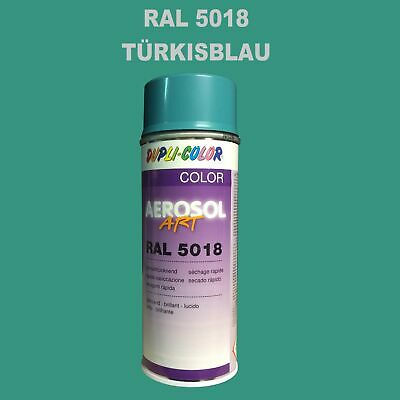 Duplicolor RAL5018 Turquoise Pulvérisation 400ml Brillant Farbenspray