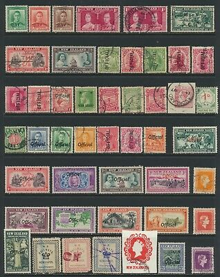 New Zealand Stamps - Singles - Mint & Used - Lot A-142